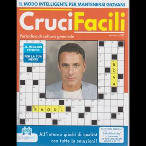 Crucifacili - n. 206 - Raoul Bova -  bimestrale - 22/6/2020 -