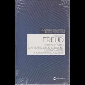 La grande biblioteca della psicologia - Sigmund Freud - n. 23 - 25/6/2020 - settimanale - copertina rigida