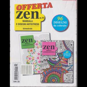 Offerta Zen - n. 11 - Mandala e disegni antistress - bimestrale - 2 riviste