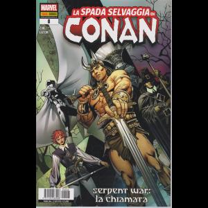 La spada selvaggia di Conan - Serpenti war: la chiamata - n. 8 - bimestrale - 25 giugno 2020