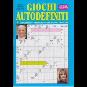 Giochi Autodefiniti - n. 289 - mensile - luglio 2020 -
