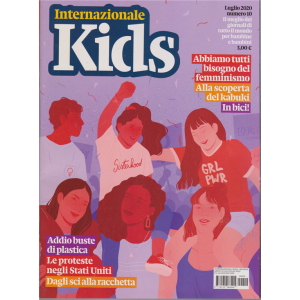 Internazionale Kids - n. 10 - luglio 2020 - mensile