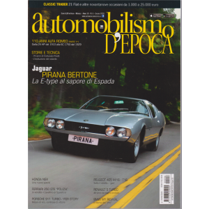 Automobilismo d'Epoca - n. 6 - giugno 2020 - mensile
