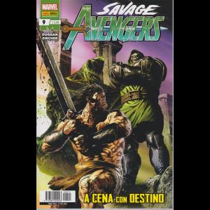 Avengers senza ritorno - Savage Avengers N. 9 - A cena con destino - mensile - 25 giugno 2020
