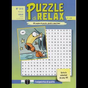 I Puzzle di Relax - n. 313 - mensile - luglio 2020 -