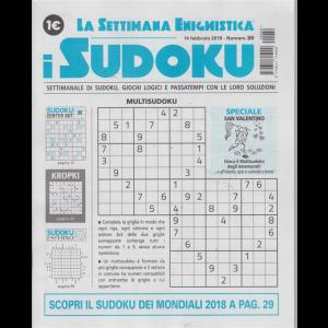 La settimana enigmistica - i sudoku - n. 30 - 14 febbraio 2019 - settimanale