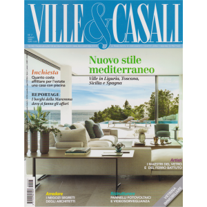 Ville & Casali - n. 7 - luglio 2020 - mensile