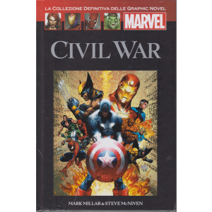 Graphic Novel Marvel - Civil War - n. 49 - 27/6/2020 - quattordicinale- copertina rigida