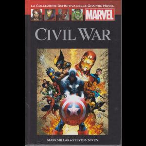 Graphic Novel Marvel - Civil War - n. 49 - 27/6/2020 - quattordicinale- copertina rigida