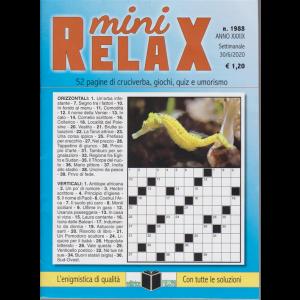 Mini Relax - n. 1988 - settimanale - 30/6/2020 -