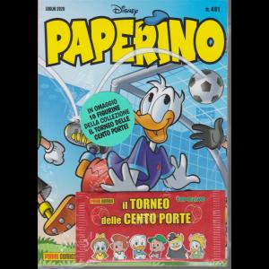 Paperino - n. 481 - + in omaggio 10 figurine della collezione Il torneo delle cento porte! - mensile - 30 giugno 2020