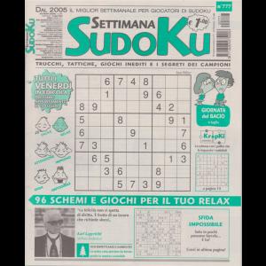 Settimana Sudoku - n. 777 - settimanale - 3 luglio 2020