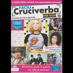 Facili Cruciverba per tutti - n. 2 - 30/6/2020 - bimestrale