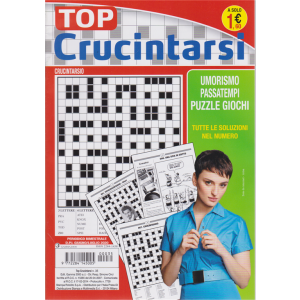 Top Crucintarsi - n. 35 - bimestrale - giugno - luglio 2020 -