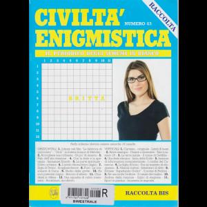 Raccolta Civiltà enigmistica - bimestrale - n. 83 - febbraio 2018
