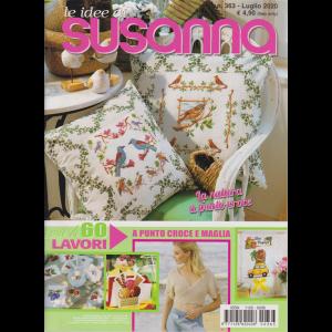 Le Idee di Susanna - n. 363 - luglio 2020 - più di 60 lavori a punto croce e maglia