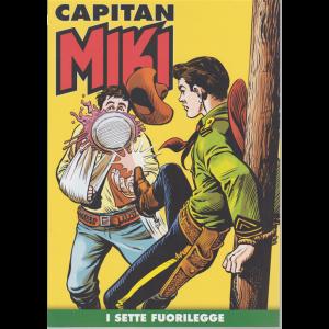 Capitan Miki -n. 73 - I sette fuorilegge - settimanale