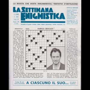 La Settimana Enigmistica - n. 4606 - settimanale - 2/7/2020