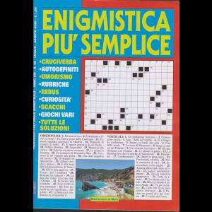 Enigmistica più semplice - n. 62 - luglio - agosto 2020 - bimestrale -