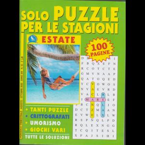 Solo Puzzle per le stagioni - estate - n. 53 - trimestrale - agosto - ottobre 2020 - 100 pagine -