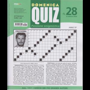 Domenica Quiz - n. 28 - 9 luglio 2020 - settimanale