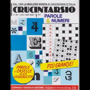 Crucintarsio - n. 367 - luglio - agosto 2020 - bimestrale -