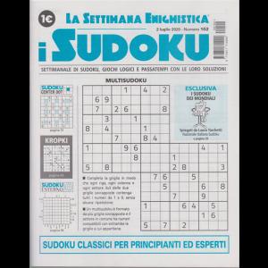 La settimana enigmistica - i sudoku - n. 102 - 2 luglio 2020 - settimanale