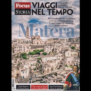 Focus storia - Viaggi nel tempo - Matera - 6 aprile 2019 -