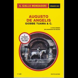 Il giallo Mondadori - classici oro - Augusto De Angelis - Giobbe Tuama & C. - n. 10 - luglio - agosto 2020 -