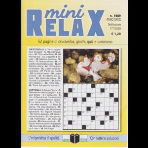 Mini Relax - n. 1989 - settimanale - 7/7/2020