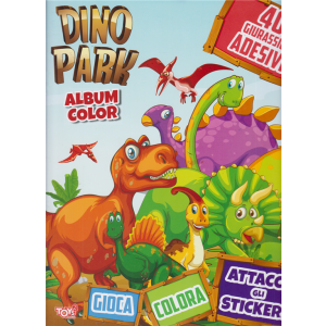 Toys2 Sticker Album color - Dino Park - n. 36 - bimestrale - 18 giugno 2020 -