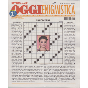 Settimanale Oggi Enigmistica - n. 28 - 14 luglio 2020 -