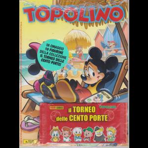 Topolino - + in omaggio 10 figurine della collezione Il torneo delle cento porte! - n. 3372 - settimanale - 8 luglio 2020 -