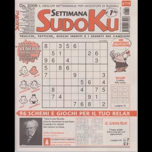 Settimana Sudoku - n. 778 - settimanale - 010 luglio 2020