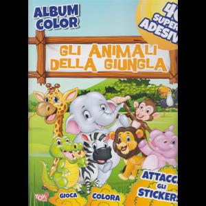 Toys2 Gold - Album color Gli animali della giungla - n. 52 - bimestrale - 25 giugno 2020 -