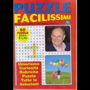 Puzzle Facilissimi - n. 72 - bimestrale - marzo - aprile 2019 - 65 puzzle -