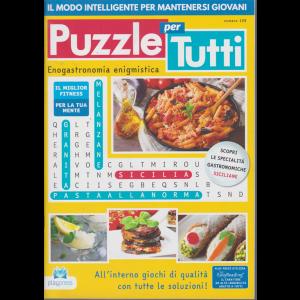 Puzzle X Tutti - n. 109 - bimestrale - 2/7/2020 -