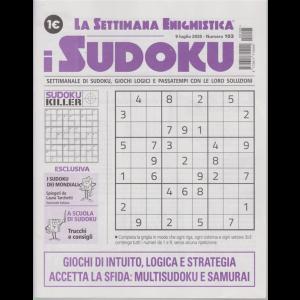 La settimana enigmistica - i sudoku - n. 103 - 9 luglio 2020 - settimanale