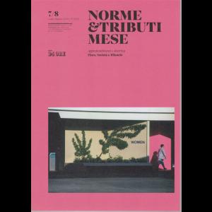 Norme &  Tributi Mese - n. 7 - luglio - agosto 2020 - mensile
