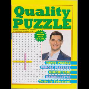 Quality Puzzle - n. 52 - trimestrale - agosto - ottobre 2020 - 100 pagine