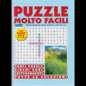 Puzzle Molto Facili - n. 90 - bimestrale - maggio - giugno 2019 - 100 pagine