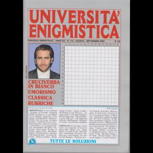 Università enigmistica - n. 116 - bimestrale - agosto - settembre 2020 -