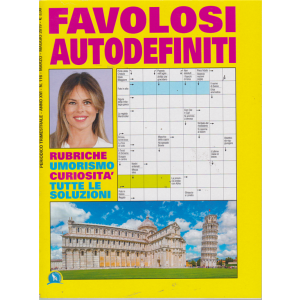 Favolosi  Autodefiniti - n. 116 - trimestrale - marzo - maggio 2019 -