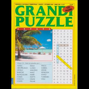 Grandi Puzzle -estate -  n. 87 - trimestrale - agosto - ottobre 2020 - 100 pagine