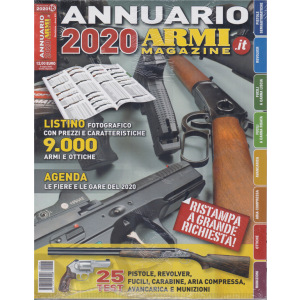 Annuario 2020 - Armi magazine - n. 16 - annuale