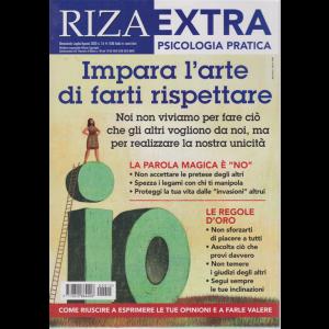 Riza Extra - Impare L'arte di farti rispettare - n. 15 - bimestrale - luglio - agosto 2020 -