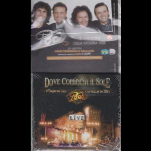 Cd Musicali di Sorrisi - n. 27 - Pooh - Dove comincia il sole live - doppio cd + libretto - 10 luglio 2020 - settimanale