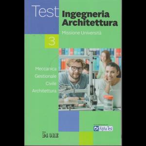 Il Sole 24 Ore Scuola- Test Area Ingegneria-Architettura - n. 3 - mensile /2020