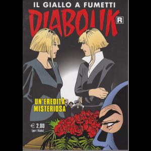 Diabolik - n. 709 - Un'eredità misteriosa - mensile - 10/7/2020