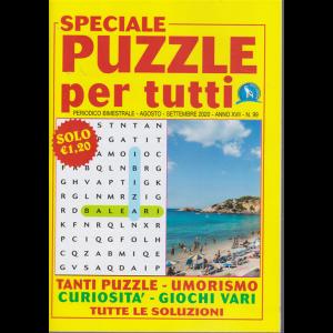 Speciale Puzzle per tutti - n. 99 - bimestrale - agosto - settembre 2020 -